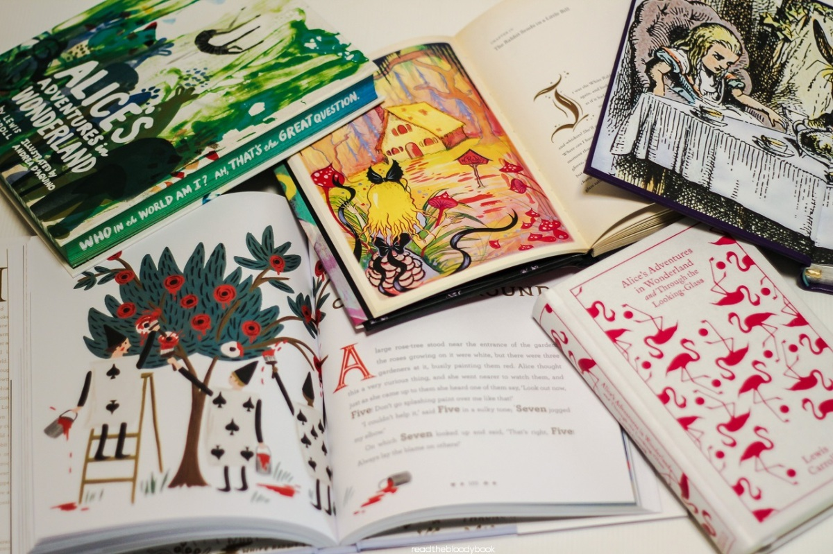 Five beautiful editions of Alice in Wonderland